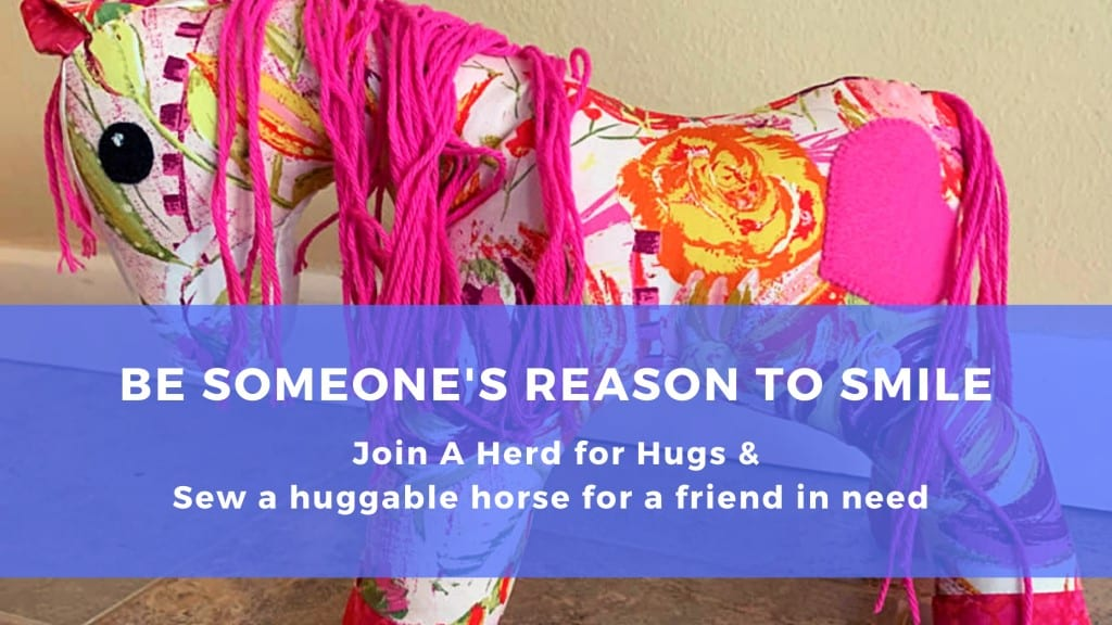 A Herd For Hugs, Huggable Horse, Sewing Horse, Dunrovin Ranch Montana