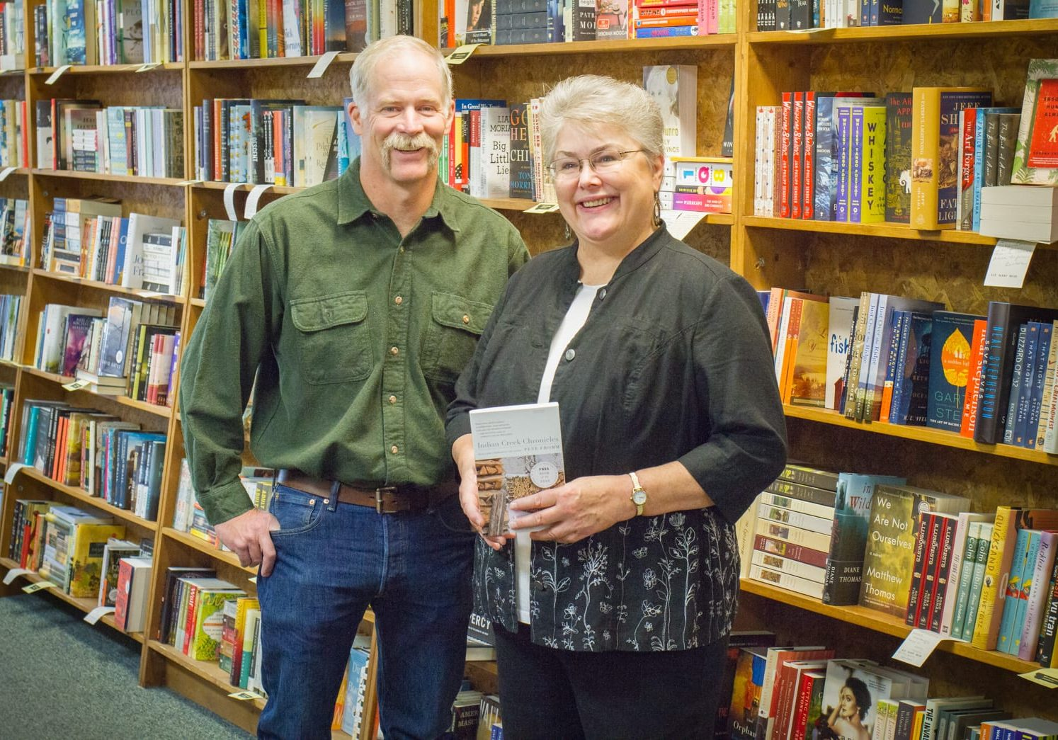 Author Pete Fromm And Judy Blunt