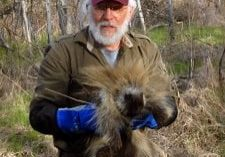 Me With Porcupine